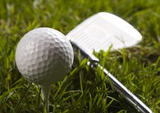 γκολφ οδηγών σφαιρών Στοκ φωτογραφία με δικαίωμα ελεύθερης χρήσης
