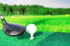 γκολφ παιχνιδιών Στοκ φωτογραφία με δικαίωμα ελεύθερης χρήσης