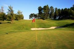 γκολφ πεδίων Στοκ εικόνα με δικαίωμα ελεύθερης χρήσης