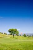 γκολφ πεδίων Στοκ φωτογραφία με δικαίωμα ελεύθερης χρήσης
