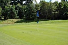 γκολφ πράσινο Στοκ εικόνες με δικαίωμα ελεύθερης χρήσης