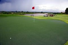 γκολφ πράσινο στοκ φωτογραφίες με δικαίωμα ελεύθερης χρήσης