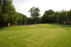 Γκολφ - πράσινο Στοκ Εικόνες