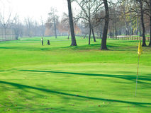 γκολφ σειράς μαθημάτων Στοκ φωτογραφίες με δικαίωμα ελεύθερης χρήσης