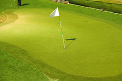 γκολφ σειράς μαθημάτων Στοκ εικόνες με δικαίωμα ελεύθερης χρήσης
