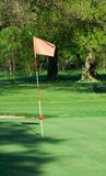 γκολφ σημαιών Στοκ φωτογραφία με δικαίωμα ελεύθερης χρήσης