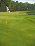 γκολφ σημαιών στοκ εικόνες
