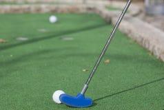 γκολφ σφαιρών μίνι Στοκ Φωτογραφίες