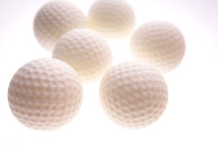 γκολφ σφαιρών Στοκ φωτογραφίες με δικαίωμα ελεύθερης χρήσης