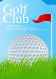 γκολφ 2 σφαιρών διανυσματική απεικόνιση