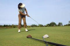 γκολφ στοκ φωτογραφία