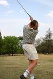 γκολφ swing2 Στοκ Εικόνα