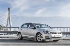 Γκολφ VII του Volkswagen Στοκ εικόνα με δικαίωμα ελεύθερης χρήσης