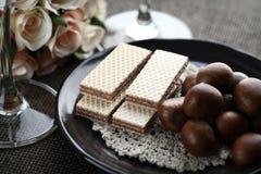 γκοφρέτα καρυδιών Στοκ Φωτογραφίες