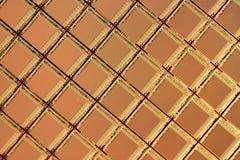 Γκοφρέτα ολοκληρωμένων κυκλωμάτων πυριτίου Στοκ εικόνα με δικαίωμα ελεύθερης χρήσης