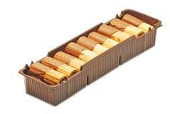 Γκοφρέτες με τη σοκολάτα Στοκ Φωτογραφία