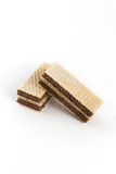 Γκοφρέτες με τη σοκολάτα Στοκ φωτογραφία με δικαίωμα ελεύθερης χρήσης