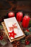 Γκοφρέτες Παραμονής Χριστουγέννων Στοκ Φωτογραφίες