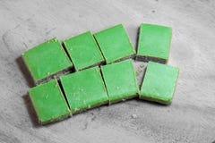 Γκοφρέτες Matcha Στοκ φωτογραφία με δικαίωμα ελεύθερης χρήσης