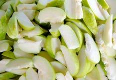 γκοϋάβα που τεμαχίζεται Στοκ Εικόνες
