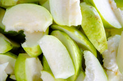 γκοϋάβα που τεμαχίζεται Στοκ Εικόνα
