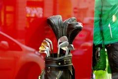 Γκολφ κλαμπ στο σύνολο Στοκ εικόνες με δικαίωμα ελεύθερης χρήσης
