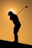 Γκολφ πρωινού Στοκ φωτογραφίες με δικαίωμα ελεύθερης χρήσης