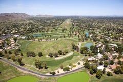 Γκολφ σε Scottsdale Στοκ φωτογραφία με δικαίωμα ελεύθερης χρήσης