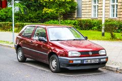 Γκολφ του Volkswagen Στοκ εικόνα με δικαίωμα ελεύθερης χρήσης