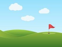 Γκολφ διανυσματική απεικόνιση
