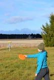 Γκολφ Frisbee στοκ φωτογραφία με δικαίωμα ελεύθερης χρήσης