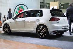 Γκολφ GTD της VW στοκ εικόνα με δικαίωμα ελεύθερης χρήσης