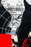 γκράφιτια προσώπου Στοκ εικόνες με δικαίωμα ελεύθερης χρήσης