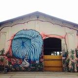 Γκράφιτι αγοράς του Βερολίνου Στοκ φωτογραφίες με δικαίωμα ελεύθερης χρήσης