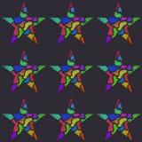 Γκράφιτι αστεριών Στοκ Εικόνα
