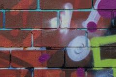 γκράφιτι αστικά Στοκ Φωτογραφίες