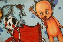 γκράφιτι θανάτου στοκ φωτογραφία με δικαίωμα ελεύθερης χρήσης