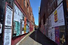 Γκράφιτι και τοιχογραφία στη Μελβούρνη Στοκ Φωτογραφία