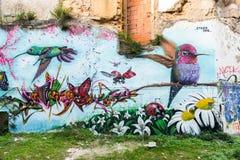 Γκράφιτι κατωφλιών Στοκ φωτογραφία με δικαίωμα ελεύθερης χρήσης