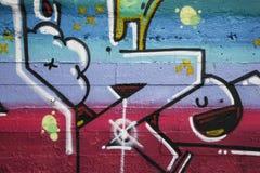 γκράφιτι λεπτομέρειας Στοκ Φωτογραφία