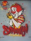 Γκράφιτι Μπρούκλιν στοκ φωτογραφίες με δικαίωμα ελεύθερης χρήσης