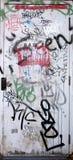 γκράφιτι πορτών Στοκ Εικόνα