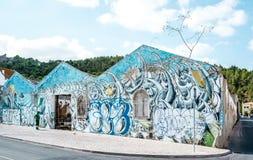 Γκράφιτι που χρησιμοποιούνται με έναν καλό τρόπο - κλασική τέχνη Στοκ Εικόνες