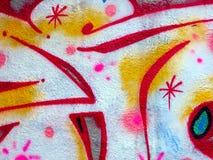 γκράφιτι Πράγα Στοκ Εικόνα