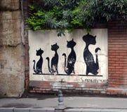 Γκράφιτι στη Ιστανμπούλ Στοκ Φωτογραφία