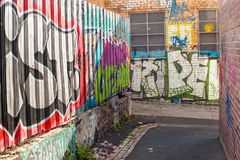 Γκράφιτι στη Μελβούρνη Στοκ εικόνα με δικαίωμα ελεύθερης χρήσης