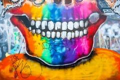 Γκράφιτι στη Μελβούρνη Στοκ εικόνες με δικαίωμα ελεύθερης χρήσης
