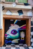 Γκράφιτι στη Μελβούρνη CBD Στοκ εικόνα με δικαίωμα ελεύθερης χρήσης