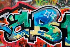γκράφιτι στοιχείων Στοκ Φωτογραφίες