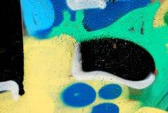 γκράφιτι στοιχείων Στοκ φωτογραφία με δικαίωμα ελεύθερης χρήσης
